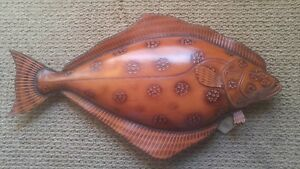 Leather Butterfly Fish by Lance Marshall Boen Stream Line Original