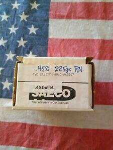 Saeco #62457 Double Cavity .452 225gr 45 Cal Bullet Mold Bullet Casting Mould