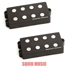 Seymour Duncan SMB-4A 4 String Music Man Alnico Pickup Set Bass Replacement