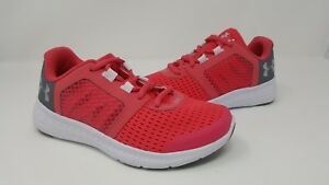 New! Toddler Girls Under Armour 1285442 692 Micro G Fuel Running Shoes Pink 60X $49.39
