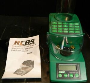 RCBS Charge Master 1500 Electronic Reloading Scale & Dispenser Excellent Cond