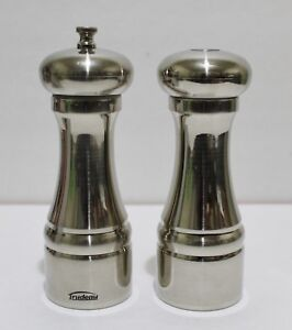TRUDEAU Pepper Mill And Salt Shaker Set 6.5