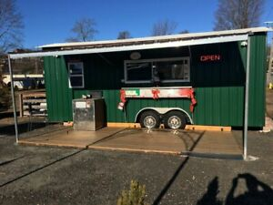 2007 - 8' x 26' Food  Pizza Concession Trailer for Sale in Connecticut!!!