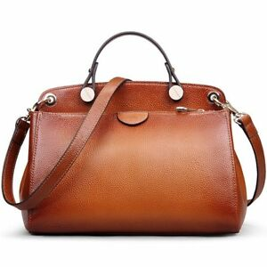 AB Earth Genuine Leather Designer Handbag for Women Clearance Doctor Style To...