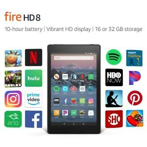 New Amazon Kindle Fire HD 8 Tablet  16 GB 8