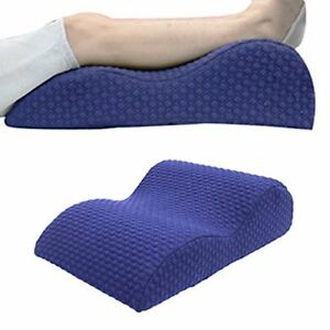 TOPARCHERY Elevated Leg Rest Pillow Memory Foam Top Knee Pillow with Remover...