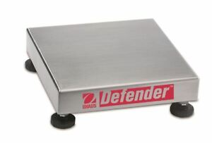 Ohaus Defender 304 Stainless Steel NTEP Bench Scale Base 10kg x 1g