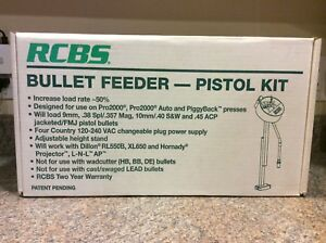 RCBS # 82350 BULLET FEEDER - PISTOL KIT   ***NEW OLD STOCK***
