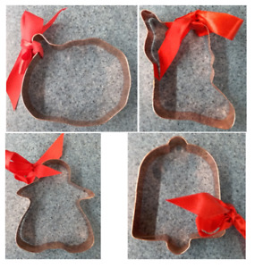 Copper Cookie Cutter or Christmas Ornament - YOU CHOOSE WHICH YOU WANT