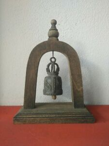 Vintage Thai Bell Buddha Temple Elephant Hanging Home Decor Collectible Gift #5