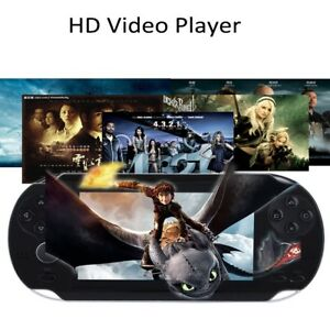 Portable Handheld 4.3'' Video Game Console Player 8GB TFT 32Bit HD Camera MP4