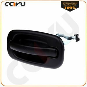 New Rear Outside Outer DOOR HANDLE for Chevy Silverado 99-07 Left LH Driver Side