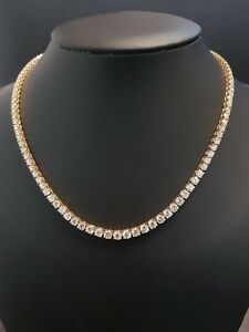 RRP £48000... Christmas Sale..22ct  Round Diamond Graduated Necklace 18k Y.Gold