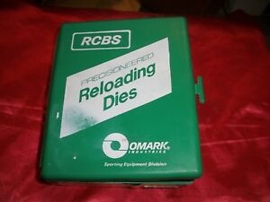 RCBS#18906 45 ACP SWC 3 Die Set Reloading Dies  *NO INSTRUCTIONS*
