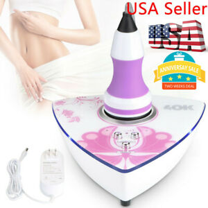 Cellulite Fat Ultrasonic Mini 40K Therapy Body Slimming Tightening Reduction Set