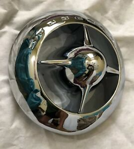 1950 Studebaker Champion Bullet Nose Ornament RECHROMED FOR SHOW CAR