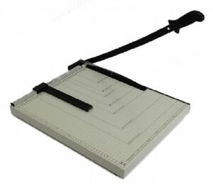 PAPER CUTTER 21 x 16 inch METAL BASE TRIMMER NEW $34.99