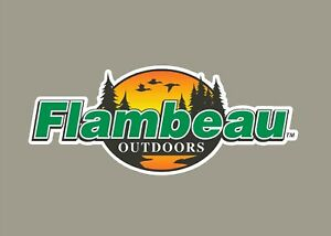 Flambeau Outdoors decals stickers bass boat tournament sponsor fishing tackle