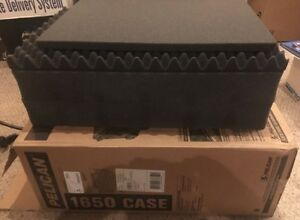 "Pelican Case 1650 Replacement Foam Insert 4 Piece W 2x 4"" Pick N' Pluck Centers"