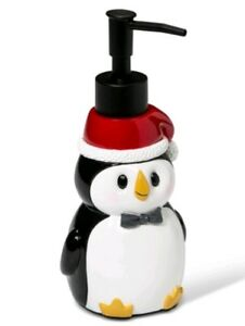 NEW Wondershop By Target Holiday/Christmas Penguin Soap Dispenser