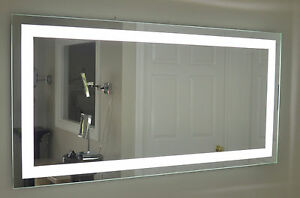 Front-Lighted LED Bathroom Vanity Mirror: 72