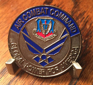 USAF Air Combat Command Command Surgeon Challenge Coin
