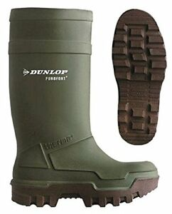 New Bagman Dunlop Purofort Thermo full Safety Men's Knee Boots