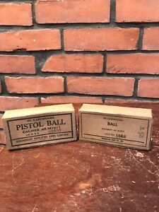 Vintage Winchester And Remington EMPTY Cardboard Ammo Box