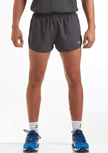 Time To Run Men's Lightweight Split Pace RunningGymAthletic Shorts with Liner