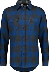 Jolt Gear Flannel Shirt for Men - Dry Fit Long Sleeve Button Down - Moisture and