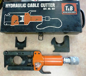 Thomas & Betts T&B 367 Hydraulic Cable Cutter 1.6