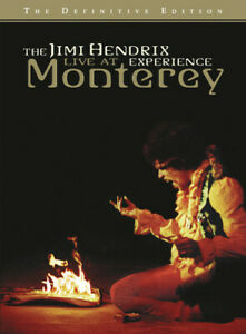 The Jimi Hendrix Experience: Live At Monterey DVD NEW