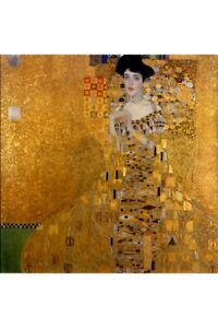 Gustav Klimt The Woman In Gold Art Print Poster 24x36 inch