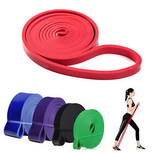 Yoga Bands Pilates Band Resistance Loop Exercise Fitness Workout Bands Set of 5