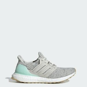 Adidas Running Ultraboost Grey White Turquoise Women Lifestyle Sneakers DB3212