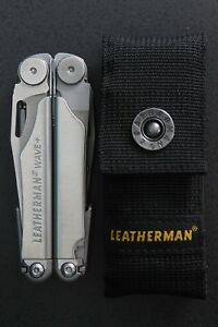 Leatherman Wave Plus (+) Multi-Tool With Nylon Sheath 832563 New No Reserve!!