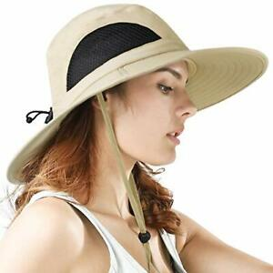 Sun Hat Wide Brim Breathable Outdoor Boonie Hats for Men & Women Hiking Fishing
