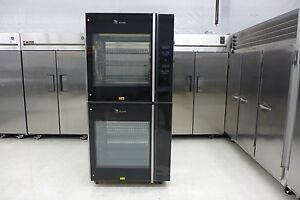 Fri-Jado TDR7+7 Double Electric Rotisserie Chicken Meat Baking Oven Hobart 2017
