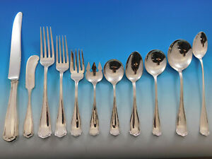 Winchester by Shreve Sterling Silver Flatware Set for 8 Service 97 pcs Dinner