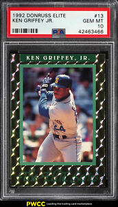 1992 Donruss Elite Ken Griffey Jr. 10000 #13 PSA 10 GEM MINT (PWCC)