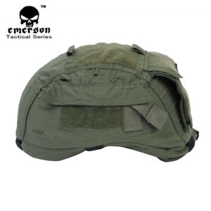 Emerson Tactical Helmet Cover Olive OD for MICH 2001 ACH Helmet Military Hunting