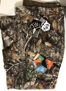 Men#x27;s Realtree Edge 2XL 44 46 Scent Control amp; Breathable Hunting Pants NEW