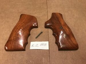 Fuzzy Farrant Grips For Smith & Wesson K Frame Square Butt Models. (Very Rare)