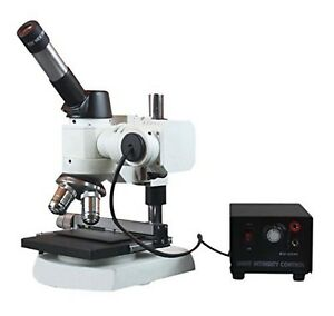 Radical 40-600x Ferrous & Non Metal Testing Lab Compact Metallurgical Reflect...