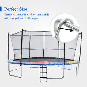 Trampoline Kids Jump Round Exercise Set Safety Spring Pad Ladder Enclosure Combo