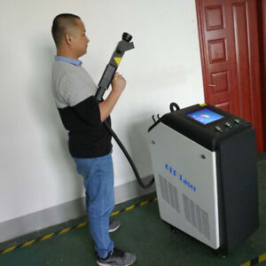 120W Industrial Mould Metal non-metal Surface Laser Cleaner Rust Removal Machine