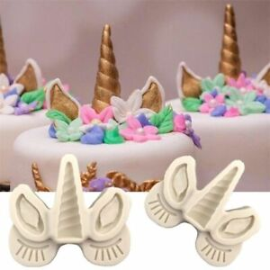 Unicorn Silicone Fondant Sugarcraft Cake Decorating Mold Chocolate Baking Mould