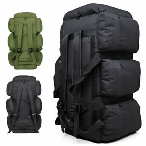 90L Large Military Tactical Backpack Outdoor Camping Trekking Duffle Bag Luggage