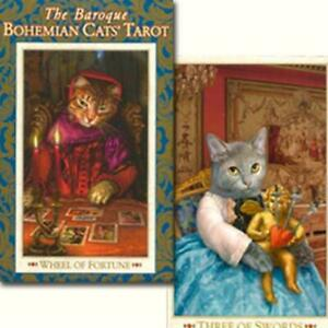 THE BAROQUE BOHEMIAN CATS' TAROT CARDS CARD HOBBY FORTUNE COLLECTIBLE CUTE JAPAN