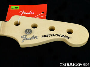 2018 Fender American Performer Precision P Bass NECK Guitar Parts Maple